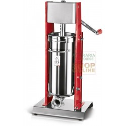 THREE SWORDS FILLER, MANUAL VERTICAL MOD. 7 MEATS 2 SPEED KG. 7
