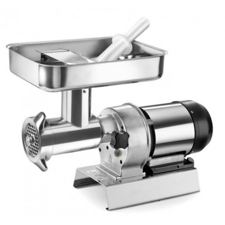 TRE SPADE meat GRINDER ELECTRIC No. 32 ELEGANT STAINLESS STEEL HP. To 1.5 WATTS. 1100