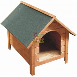 BLINKY WOODEN KENNEL MOD. BROOM MEDIUM SIZE 69X90X68H.