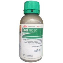 HERBICIDE HERBICIDE SELECTIVE DOWAGRO GOAL 480 SC ML. 500 Oxifluorfen