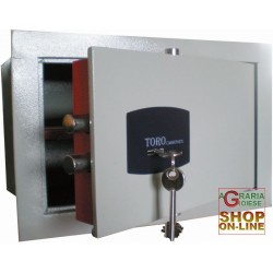 WALL SAFE MECHANICAL DOOR MM. 6 CM.31x20x20h.