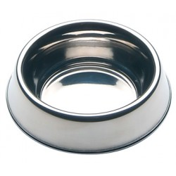 BOWLS STAINLESS STEEL DOG CM. 21