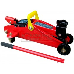 HYDRAULIC JACK TROLLEY-TWO TONS CASE TONS.2 JACKS FOR CAR CARAVAN CAMPER