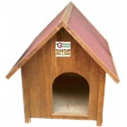 KENNEL FOR DOG ALAMO WOOD PAINTED CM. 81X103X103H