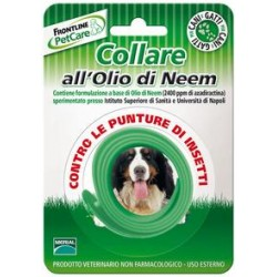 FRONTLINE COLLAR ANTIPUNTURE WITH NEEM OIL FOR CATS AND DOGS AGAINST THE BITES OF INSECTS