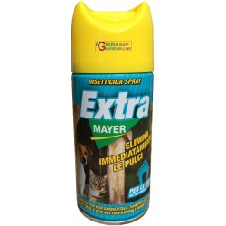 INSECTICIDAL SPRAY EXTRA MAYER IMMEDIATELY ELIMINATES FLEAS ML. 400