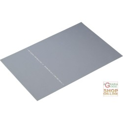 SHEET PARA THE DIELECTRIC THICKNESS 4 MM RESISTANCE 50 000V SALES PER SQM GRAY COLOR