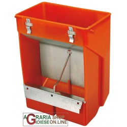 (MAJOR) NOVITAL PLASTIC FEEDER FOR RABBITS HOPPER