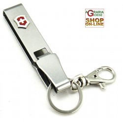 VICTORINOX HOOK KEY RING MULTI-CLIP TRAY, BELT CLIP, ORIGINAL STAINLESS VERY GOOD