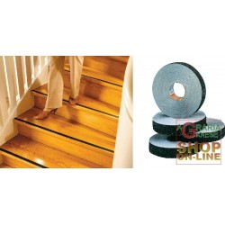 TESA SELF-ADHESIVE STRIP OF ANTI-SLIP FOR STEPS AND FLOORS COLOR BLACK MM. 20X600