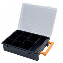 CASE SMALL PARTS CONTAINERS...