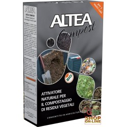 ALTEA COMPOST ACTIVATOR A NATURAL FOR THE COMPOSTING OF VEGETABLE RESIDUES