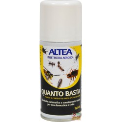 ALTEA JUST enough TANK INSECTICIDE AEROSOL DEPLETION TOTAL 150 g