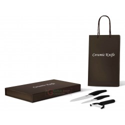 ARTUS 3-PIECE SET COLELLI KITCHEN WITH CERAMIC BLADE GIFT BOX