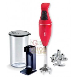 BAMIX MONO ORANGE BLENDER IMMERSION BLENDER WATT. 180 WITH KIT
