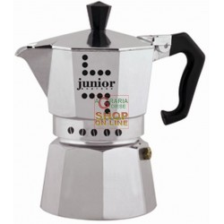 BIALETTI COFFEE MACHINE, JUNIOR COFFEE, MOKA EXPRESS 1 CUP