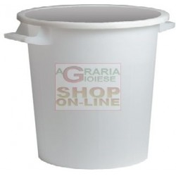 BIN WHITE STACKABLE WITHOUT...