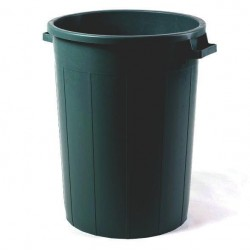 BIN BLACK WITHOUT COVER LT.120