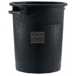 BIN BLACK STACKABLE WITHOUT...