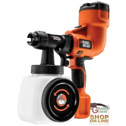 BLACK AND DECKER SPRAY GUN FOR PAINTING HVLP200