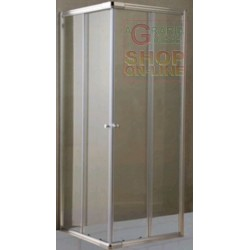 A SHOWER OF TRANSPARENT GLASS MM 6 CM. 64/70X84/90