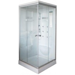 SHOWER WITH TUB CM. 90X90