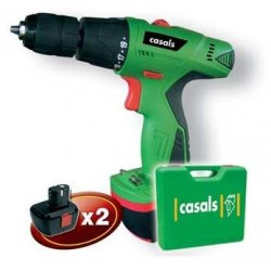 CASALS DRILL DRIVER 12V WITH PERCUSSION VCP12M-2