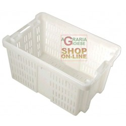 BASKET OLIVIA IS SUITABLE FOR THE TRANSPORT OF FRUIT AND VEGETABLES CM. 58X38X31,5H.