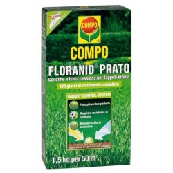 COMPO FLORANID LAWN FERTILIZER FOR TURF GRASS WITH HERBICIDE KG. 3