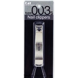 KAI NAIL CLIPPERS NAIL CLIPPER STAINLESS STEEL MEDIUM MOD. 003M