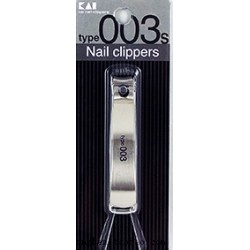 KAI NAIL CLIPPERS NAIL CLIPPER STAINLESS STEEL SMALL MOD. 003S