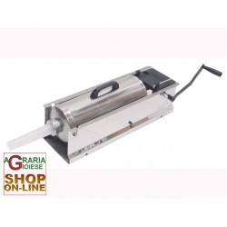 LEONARDI FILLER FOR MEATS STAINLESS STEEL JUMBO 2-SPEED KG. 10