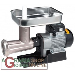 LEONARDI MEAT GRINDER ELECTRIC 22 STAINLESS HP. 1 NIPLOY