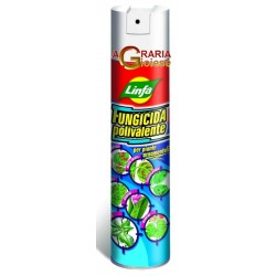 LYMPH FUNGICIDE SPRAY MULTI-PURPOSE FOR THE DEFENCE OF ORNAMENTAL PLANTS ML. 400