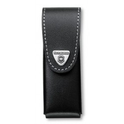 VICTORINOX HOLSTER LEATHER BLACK KNIFE 111 MM