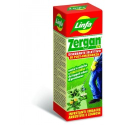 LYMPH ZERGAN EV HERBICIDE SELECTIVE HERBICIDE FOR THE LAWN POST-EMERGENCY ML. 250