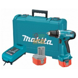 MAKITA 6271DWPE DRILL driver WITH TWO BATTERIES 12V 1.3 Ah