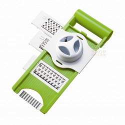 MOHA MANDOLINE PLASTIC 5 FUNCTIONS TO CUT AND GRATE WITH PROTECT HAND