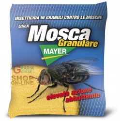 MOSCAMAYER GRANULAR INSECTICIDE AGAINST FLIES, FLY PAPERS YELLOW GR. 100