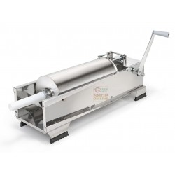 REBER VACUUM FILLER FOR SALAMI STAINLESS STEEL 2 SPEED KG. 15