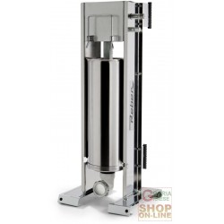 REBER SAUSAGE FILLERS FOR MEATS STAINLESS STEEL, VERTICAL, 2 SPEED KG. 8