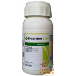 SYNGENTA BREAK-THRU S 240 BAGNANTE COADIUVANTE PER TRATTAMENTI ML. 250