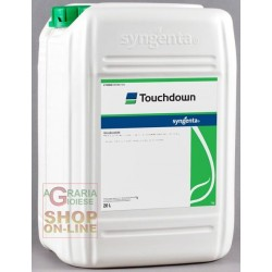 SYNGENTA SYSTEMIC HERBICIDE TOUCHDOWN-BASED, GLYPHOSATE LT. 20