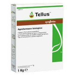 SYNGENTA TELLUS, a BIOLOGICAL FUNGICIDE FOR THE CONTROL OF FUNGAL DISEASES in THE SOIL, TRICHODERMA kg. 1
