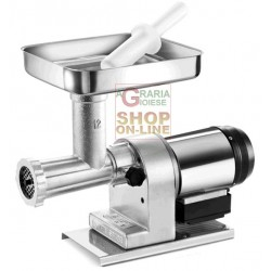 TRE SPADE meat GRINDER ELECTRIC No. 12 EL-160 ELEGANT WATTS. 480 BODY, TIN-PLATED CAST IRON