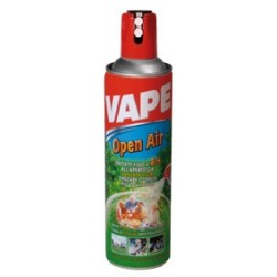 VAPE SPRAY IN THE OPEN AIR FOR MOSQUITOES AND SMALL INSECTS TO THE OUTER ML. 600