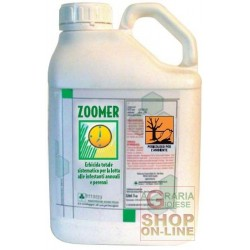 ZOOMER GLIPHOSATE OXYFLUORON LT. 5 SUITABLE TO THE PRESEMINA OF THE LAWN