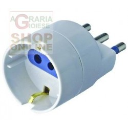 ADAPTER 16A WITH T FOR SCHUKO SOCKET
