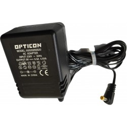 ALIMENTATORE DI CORRENTE OPTICON A50200N0020 AC ADAPTER 9V 0.5A 230V ORIGINALE