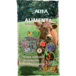 ALTEA FEEDS MANURE HUMIFIED COMPOST DEODORIZZATO FOR ORCHARDS AND GARDENS 50 L